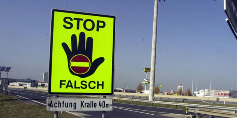 Geisterfahrer: Rekordtief in Österreich