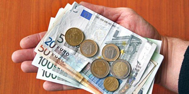 Inflation sinkt auf 1,1 Prozent