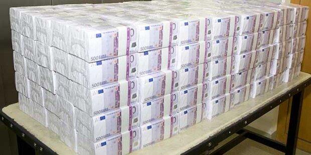 Österreicher mit 1 Mio. Euro gestoppt