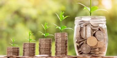 Geld, Anlage, Sparen, Wachstum - Symbolbild - 1