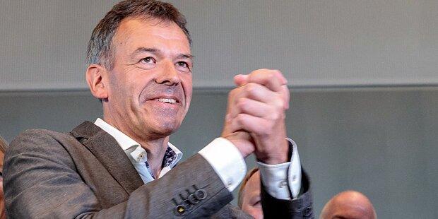 Georg Willi zum Innsbrucker Bürgermeister angelobt
