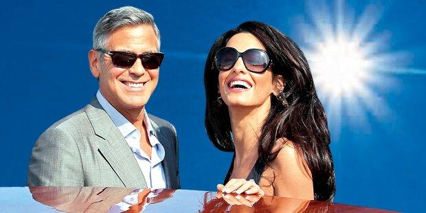 Hochzeit: Clooney heiratet in Venedig