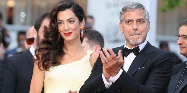 Amal Clooney im Zwillingsglück!