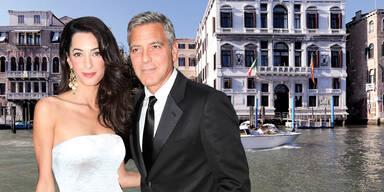 Start für George Clooneys Hochzeit