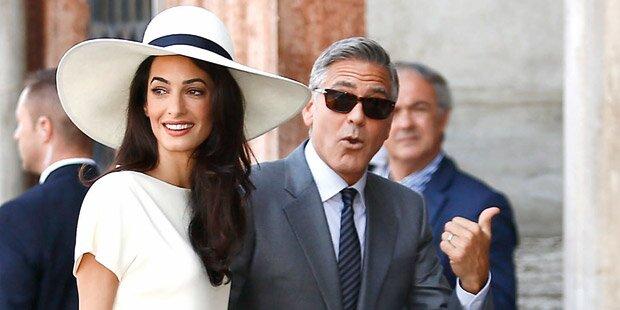 Clooney: Hochzeit für 10 Millionen