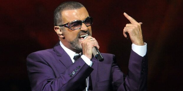 George Michael rockte Wiener Stadthalle