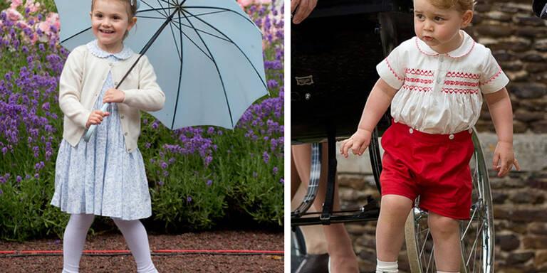 Diese Mini-Royals sind jetzt schon Stilikonen!