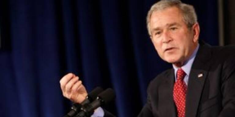 """Laut Bush """"USA haben weltbestes Gesundheitssystem"""""""