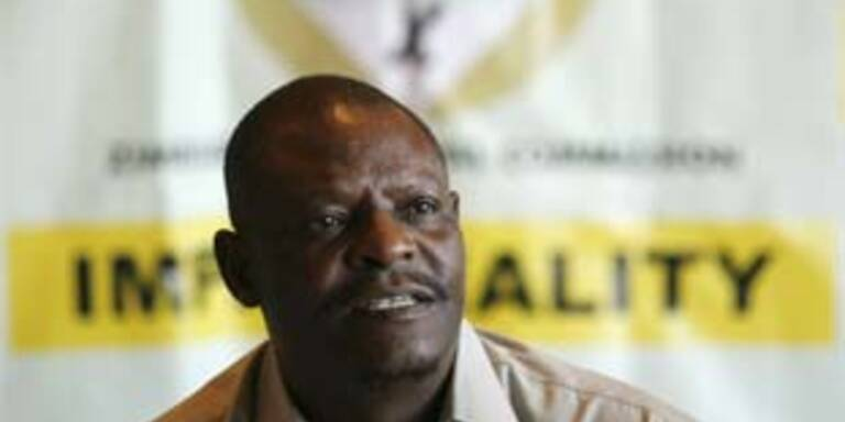 Leiter der Wahlkommission: George Chiweshe
