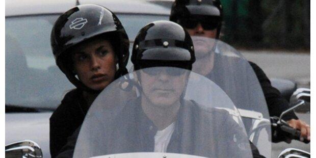 George Clooney: Wieder Motorradunfall