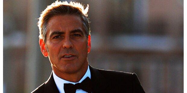 Clooney besuchte Schwiegermama in spe