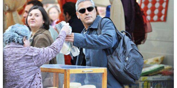 Wenn George Clooney Käse kauft...