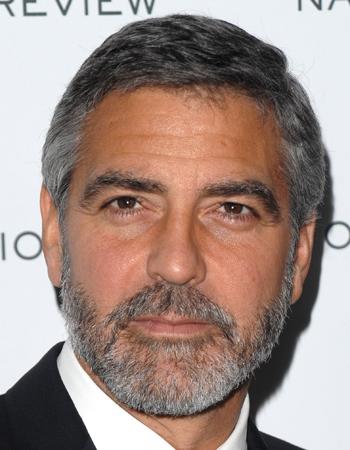 George Clooney mit Bart