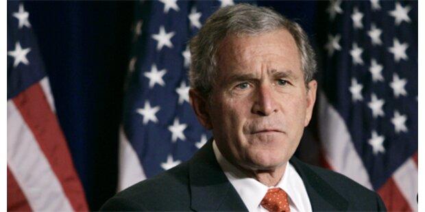 Bush hält an Irak-Strategie fest