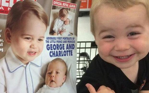 Dieser Bub denkt, er ist Prinz George!