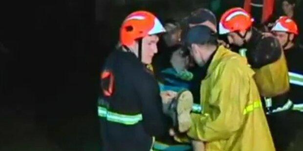 5 Tote bei Hochwasser in Georgien