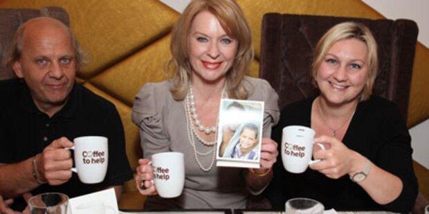 Gerda Rogers zum Kaffee auf