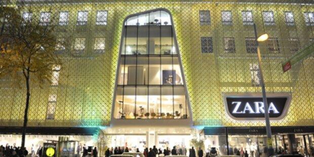 Schicker Shopping-Tempel für Wien