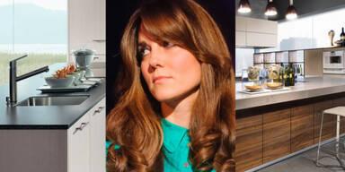 3 Luxus-Küchen für Herzogin Kate!