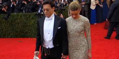 Johnny Depp: Krise wegen Ehevertrag