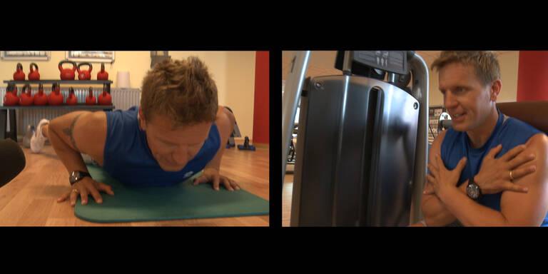 Körpertraining oder Training mit dem Körper!