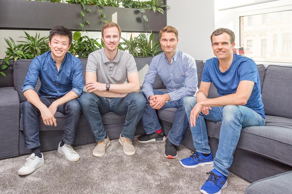 GetYourGuide - ADV - Gründerteam Tao Tao, Martin Sieber, Johannes Reck, Tobias Rein