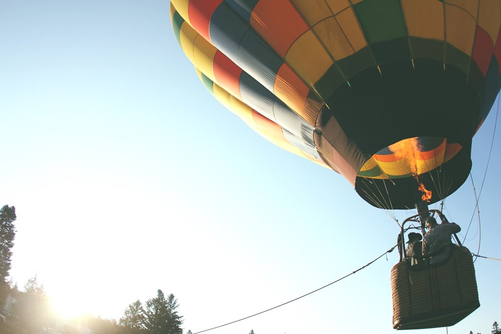 GetYourGuide - ADV - Erlebnis-Buchungsplattform - Heißluftballon-Fahrt