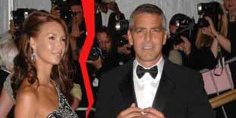 Getrennt: Sarah Larson & George Clooney