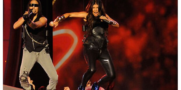Black Eyed Peas stürzen die Jungledrum