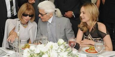 Anna Wintour, Karl Lagerfeld, Diane Kruger