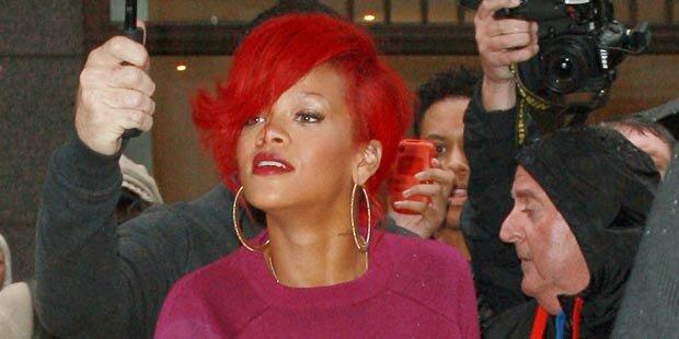 Rihanna über Haare: