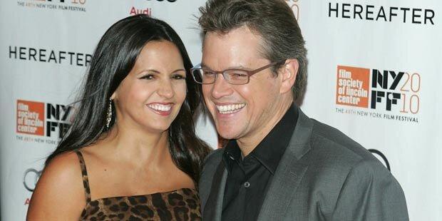 Matt Damon: Vierte Tochter ist da