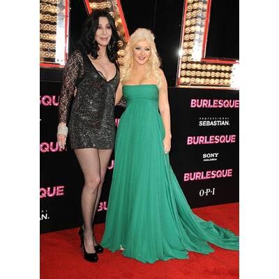 Burlesque: Cher zeigt viel, Xtina strahlt