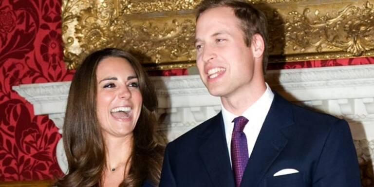 Prinz William freut sich schon auf Kinder