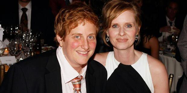 Cynthia Nixon und Freundin sind Eltern