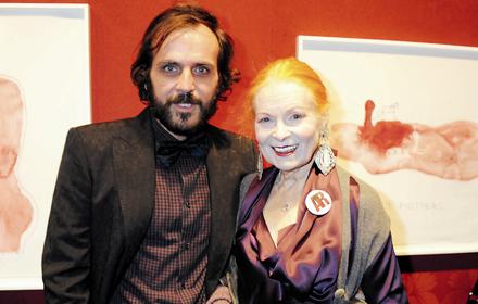 Vivienne Westwood und Andreas Kronthaler