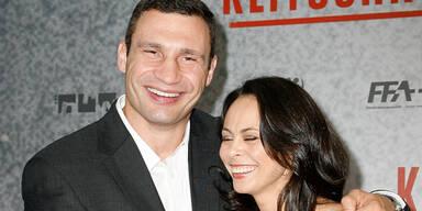 Witali und Natalia Klitschko