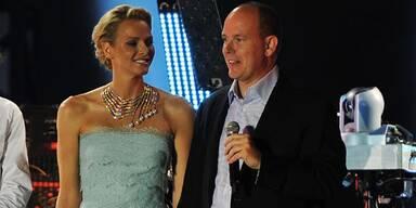 Fürst Albert und Fürstin Charlene von Monaco