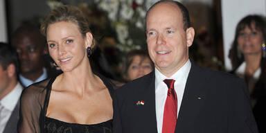 Fürst Albert II. und Fürstin Charlene