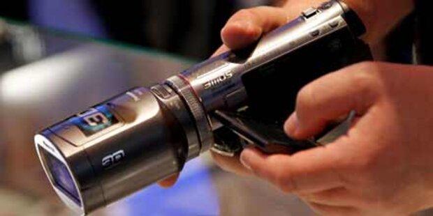 3D-Camcorder für Privatleute