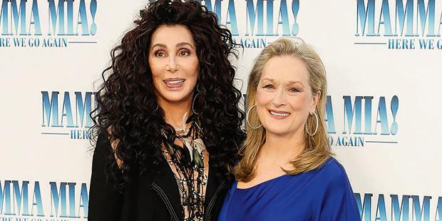 ABBA Benny Björn Cher Meryl Streep Mamma Mia 2