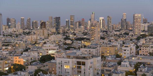 Raketenalarm in Tel Aviv: Explosion war zu hören