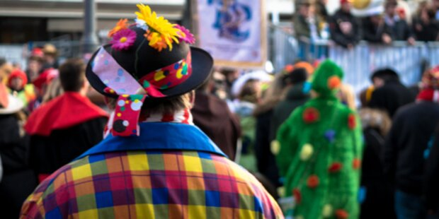 Tausende Narren feiern heute in Villach