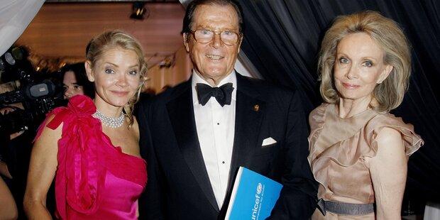 Roger Moore trauert um seine Tochter