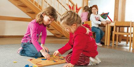 Haupt-Anmeldezeit für Kindergartenbesuch
