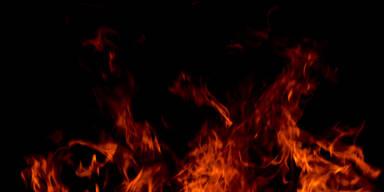 Fünf Feuerwehren bekämpften Großbrand im Mittelburgenland