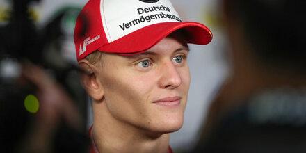 Mick Schumacher Zweiter bei Testdebüt