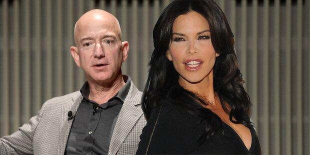 Bezos-Geliebte soll pikante Bilder geteilt haben