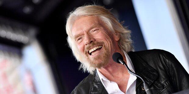 Branson will im Juli mit eigenem Raumschiff ins All