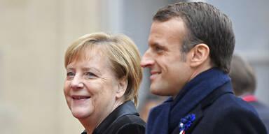 Merkel: Staaten sollten bereit zur Abgabe von Souveränität sein